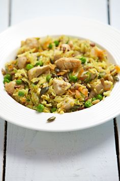 Gingered Chicken Recipe with pumpkin and seasame seed pilau rice Pilau Rice, Maine, Ginger Chicken, Rice Dishes, Pumpkin Recipes, Fried Rice, Risotto, Seeds, Dinner Recipes