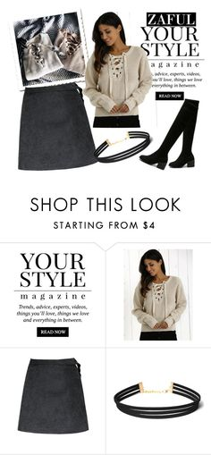 """""""Find your style"""" by merimaa997 ❤ liked on Polyvore featuring Pussycat, autumn, newtrend, fallfashion and zaful"""