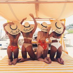 Beach day in Montauk with the girls, can you guess who is who ☺️☀️ @revolve @tularosalabel #RevolveintheHamptons