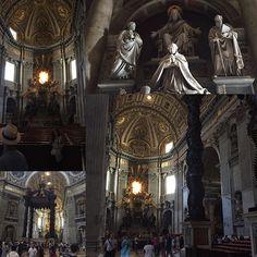 Vatican.  Собор Святого Петра.  #Ватикан #Vatican #Roma #Rome #Italy #beautiful #Love #Like #VaticanCity by tatyana_piter