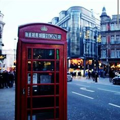 London red telephone box's amazing and very cool for me