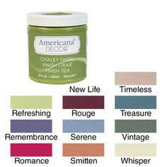 Americana Chalky Finish Paint 8oz