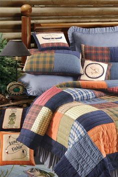 Northern Plaid Patchwork Quilt
