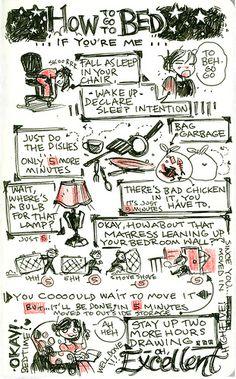 'Near-Life Experience' sketchnotes by Lea Hernandez.
