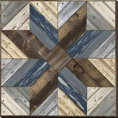 size: Stretched Canvas Print: Rolling Star by Mark Chandon : Artists Using advanced technology, we print the image directly onto canvas, stretch it onto support bars, and finish it with hand-painted edges and a protective coating. Reclaimed Wood Wall Art, Wood Art, Rustic Wood, Diy Pallet Projects, Wood Projects, Pallet Ideas, Pallet Ceiling, Pallet Walls, Pallet Boards