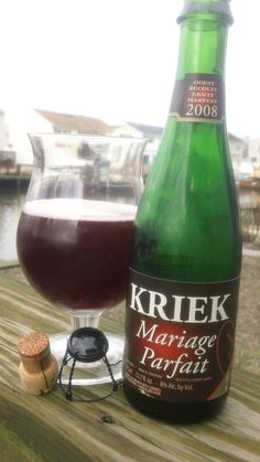 Boon Oude Kriek Mariage Parfait, enjoyed while brewing a sour of my own