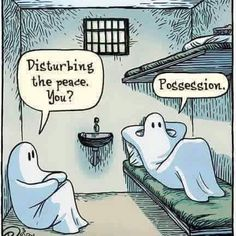 Lol ghost jail!