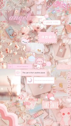 Cool Wallpapers For Girls, Cute Images For Wallpaper, Cool Wallpapers For Phones, Cute Girl Wallpaper, Pretty Wallpapers, Baby Pink Wallpaper Iphone, Pink Wallpaper Anime, Kawaii Wallpaper, Baby Blue Aesthetic