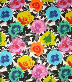 Feeling creative!! Just bought this LUSH print fabric to cover a old bar stool I scavenged from a skip! #Project #Funtimes (Madone fabric is a vibrant and colourful contemporary fabric suitable for curtains, blinds and cushions. www.justfabrics.com) Just click on the create curtains/blinds button above to begin. it's