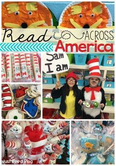 Great ideas for celebrating Dr. Seuss's birthday and Read Across America