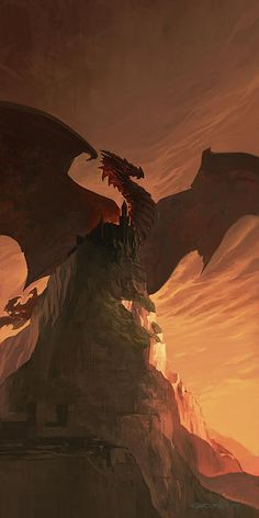 Fireborn Dragon Print by Sedone Thongvilay