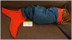 Meerjungfrau, Decke, Kuscheldecke, Meerjungfrauflosse, Schwanzflosse, Nähen, Geschenk, Weihnachten, Fleece