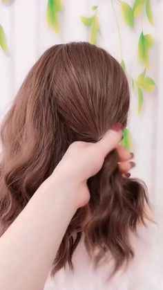 🌟Access all the Hairstyles: – Hairstyles for wedding guests – Beautiful hairstyles for school – Easy Hair Style for Long Hair – Party Hairstyles –. Pretty Hairstyles, Girl Hairstyles, Braided Hairstyles, Hairstyles Videos, School Hairstyles, Hair Upstyles, Long Hair Video, Wedding Guest Hairstyles, Hair Arrange