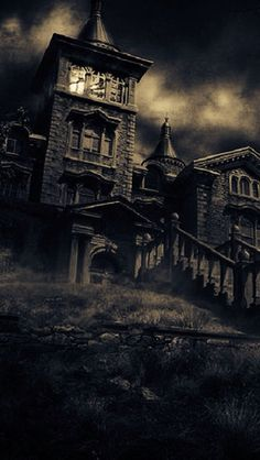 The Bent-Neck Lady: Examining The Haunting of Hill House's Best Episode Spooky House, Creepy Houses, Haunted Houses, Abandoned Mansions, Abandoned Buildings, Abandoned Places, Spooky Places, Haunted Places, Mysterious Places