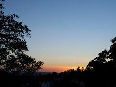 Sonnenuntergang in Vallendar
