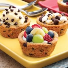 This looks fantastic!  Just flip your Demarle Muffin Tray over to create these awesome cookie bowls!
