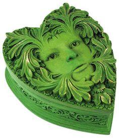 Green Man box