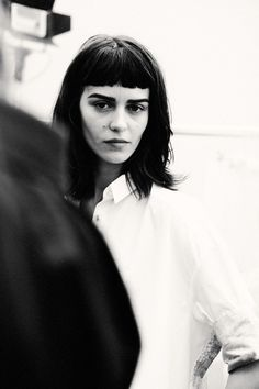 Marta Dyks at ACNE STUDIOS SS14 by LEA COLOMBO