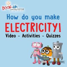 Learn How To Make Electricity! Pumpus has a Flowing Idea - Interactive STEM video - activities - quizzes by BOONdahLearning on Etsy Interactive Stories, Interactive Activities, Kids Learning Activities, Hands On Activities, Circuit Games, School Grades, Teacher Resources, Homeschooling Resources, Technology Tools