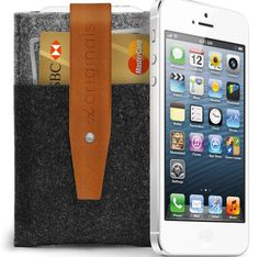 iPhone 5 Wallet - Click image for Uncovet