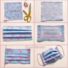 The best face mask tutorial packaging face mask packaging . Small Sewing Projects, Sewing Hacks, Sewing Tutorials, Sewing Crafts, Sewing Diy, Diy Crafts, Knitting Projects, Techniques Couture, Sewing Techniques