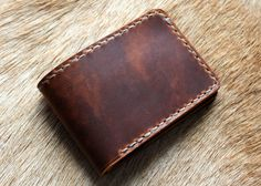 Horween Dublin Simple Bifold - $30