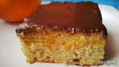 Jeges-narancsos süti Cornbread, Vanilla Cake, Cukor, Healthy Recipes, Ethnic Recipes, Desserts, Drink, Food, Diet