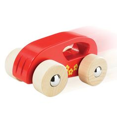 Little Auto, Red  V'room! This hand-powered vehicle can move as fast as your toddler.  Age 10 Months+