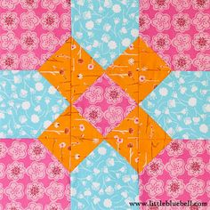 Block is called California, tute is here:  http://www.quilterscache.com/C/CaliforniaBlock.html