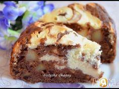 НЯМ-НЯМ:Пирог с творожной начинкой и яблоками - YouTube