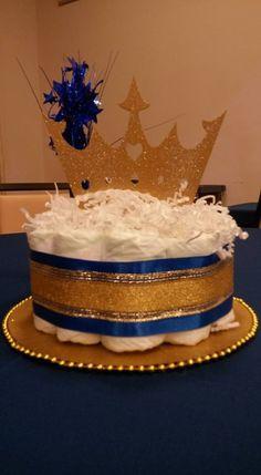 Royal Prince Diaper Cake Stuff I Made Pinterest