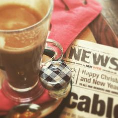 Hot Christmas coffee ;-) #coffee #latte #diy #christmas