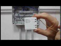 Micrómodulo Insteon  para motor persianas, cortinas o toldos.