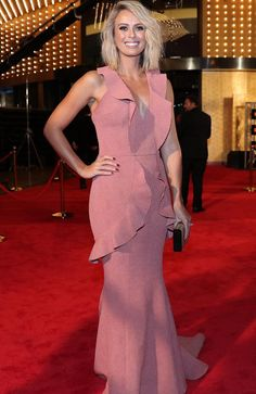 Television presenter Sylvia Jeffreys at the 2017 Logie Awards at the Crown Casino in Melbourne, Australia, Sunday, April 23, 2017. Picture: AAP Image/Jonathan Di Maggio