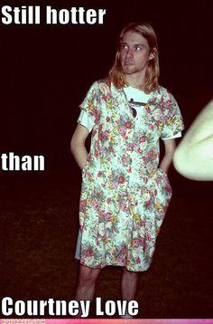 Kurt Cobain meme