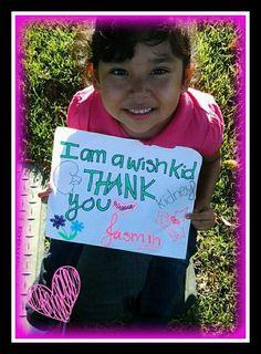 I am a wish kid. www.wish.org/ #IAm #FacesofWishes