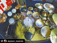 @alysson_rezende set up with his Tru Tuner in Brazil  #Repost @alysson_rezende with @repostapp  Final tuning to record audio and video... First time with multi audio  #trutuner #drums #drummer #drumtuning #drumporn #drumkit #DrumTech #drumgear #musiclife #drumlife #drumagram #instadrum #instadrums #instadrummer #battera #Batería #tambor by trutuner