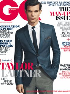 GQ Cover Hunk - Taylor Lautner