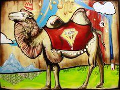 Camel by Jesse Link I Love Him, My Love, Link Art, Keller Williams, Camels, Art Festival, Happy, Painting, Painting Art