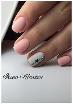 Square Nail Designs, Short Nail Designs, Acrylic Nail Designs, Nail Design For Short Nails, Nail Designs Spring, Simple Nail Art Designs, Nail Designs With Hearts, Designs For Nails, Latest Nail Designs