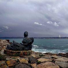 #Coruña | Tarde de lluvia en #Adormideras 🌧