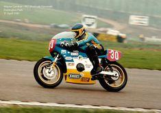 11 April 1981 - Donington Park - Wayne Gardner - 997 Moriwaki Kawasaki