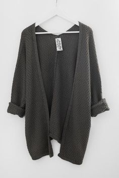 Olive Indie Knit Cardigan