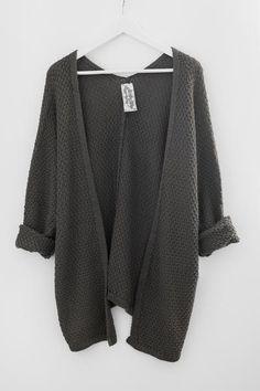 Olive Indie Knit Cardigan