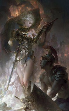 Added new work by concept artist @gjart1 Guangjian Huang! http://goo.gl/Rd4ZzU #fantasy #illustration