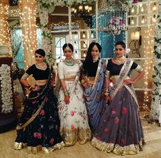 Anika and Family 😊 Indian Wedding Outfits, Pakistani Outfits, Indian Outfits, Indian Lehenga, Lehenga Designs, Indian Attire, Indian Wear, Asian Bridal, Indian Designer Wear
