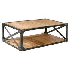 Furniture Classics LTD Bleecker Recycled Coffee Table