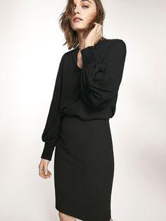 Los trajes de mujer Primavera Verano 2017 de Massimo Dutti. Trajes de chaqueta o pantalón, negros y elegantes, un must have que no puede faltar en tu vestidor.