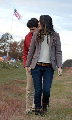 Autumn talks often lead to Autumn walks.