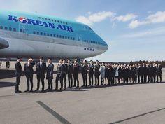KOREAN AIR Flight Attendant/ Cabin Crew of ✩INSTAGRAM✩ #제주도 #동기사랑